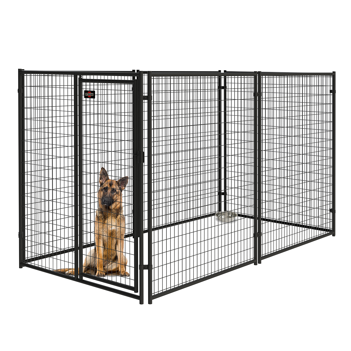 6ft H X 5ft W Welded Mesh Kennel Gate Pet Kennels