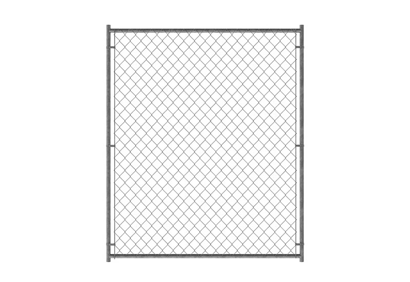 6ft H X 5ft W Chain Link Kennel Panel Pet Kennels