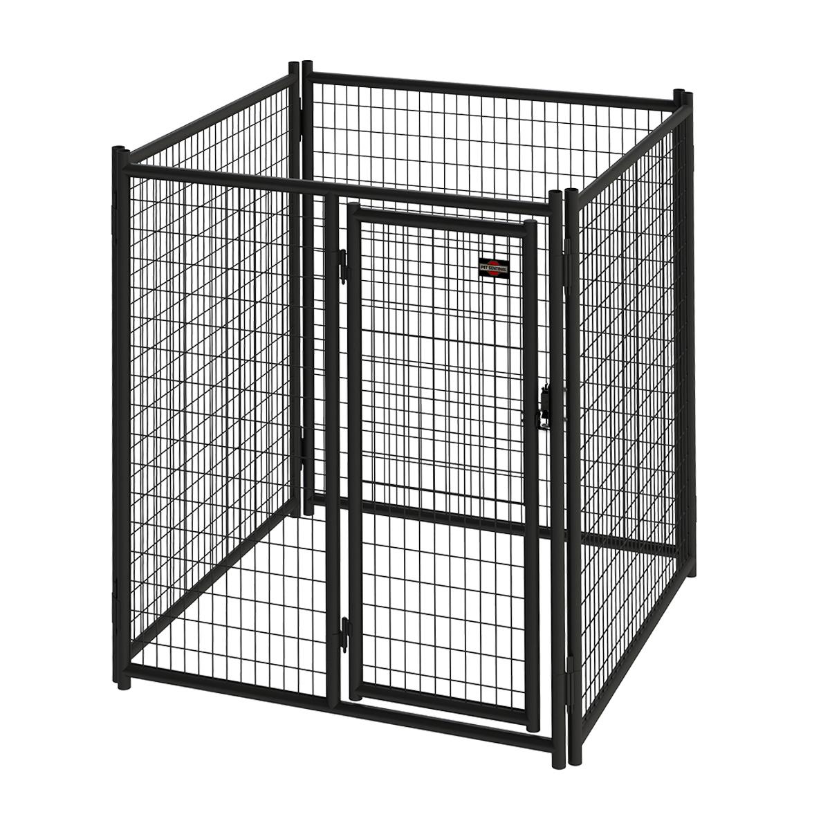 6ft H X 5ft W Heavy Duty Steel Kennel Panel Pet Kennels